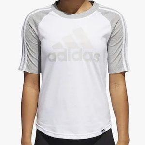 Adidas Women's Badge Of Sport Baseball T-Shirt